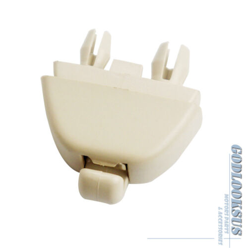 OEM Pair Beige Sun Visor Clip For VW Passat Polo SKODA Rapid Seat 6R0857561