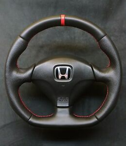 flat bottom steering wheel honda acura civic sport type r. Black Bedroom Furniture Sets. Home Design Ideas