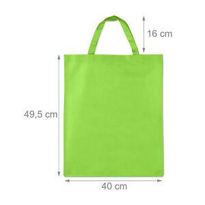 100 x Stoffbeutel Stofftasche Textil Beutel Einkaufsbeutel Tragebeutel hellgrün