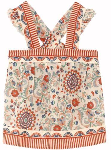 BLOUSE 7//8Y 11//12Y fine cotton BNWT STELLA MCCARTNEY girls floral SUNTOP