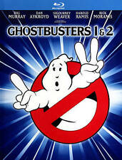 GHOSTBUSTERS/GHOSTBUSTERS 2 4K (Blu-ray Disc, 2014, 2-Disc, Mastered in 4K) NEW