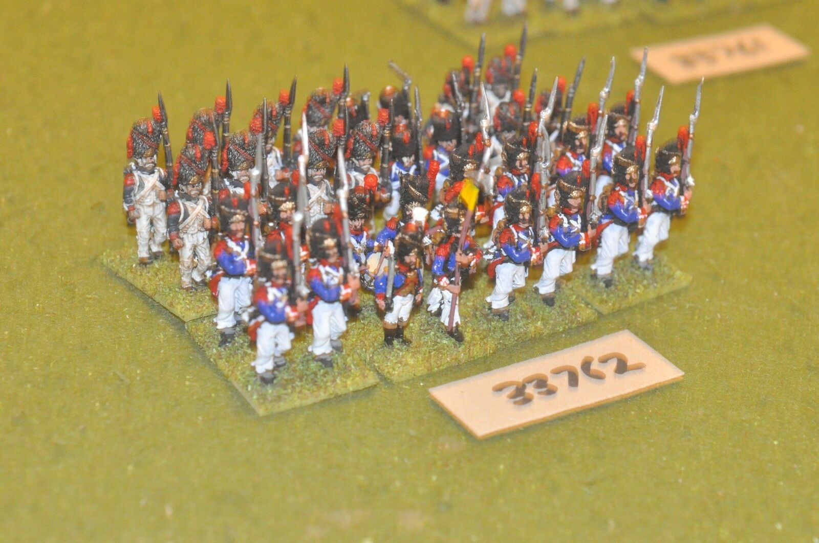 25mm napoleonic   french - old guard 32 figures - inf (33762)
