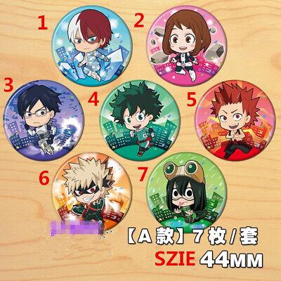 T645 Anime Boku no Hero Academia Izuku  badges Pins Schoolbag Backpack Decorate