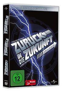 Zurueck-in-die-Zukunft-Trilogie-3-DVDs-DVD-Film-327-Minuten-NEU
