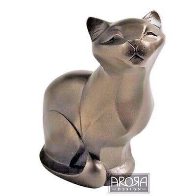Arora Gallery CollectionCat Lying Bronze FigurineGift for Cat Lovers