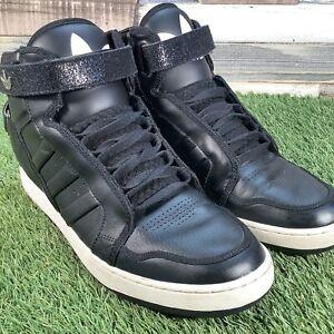 UK10-5-Adidas-Adi-Rise-AR-High-Top-Trefoil-Trainers-Retro-Basktball-Style-EU45
