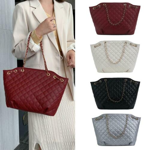 Fashion Large Capacity Handbag Women Leather Shoulder Bags Tote Purse Messenger