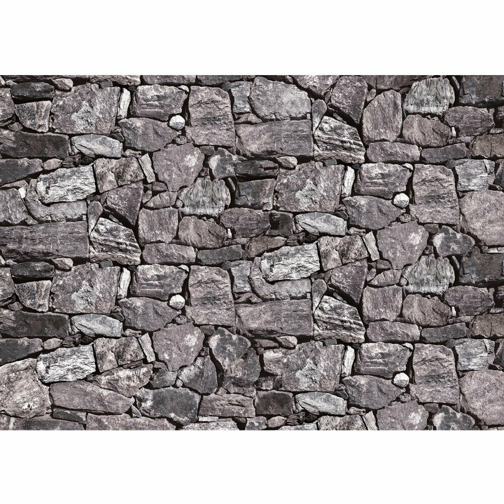 Photo Wall Paper Stones Stone Look Liwwing No. 616