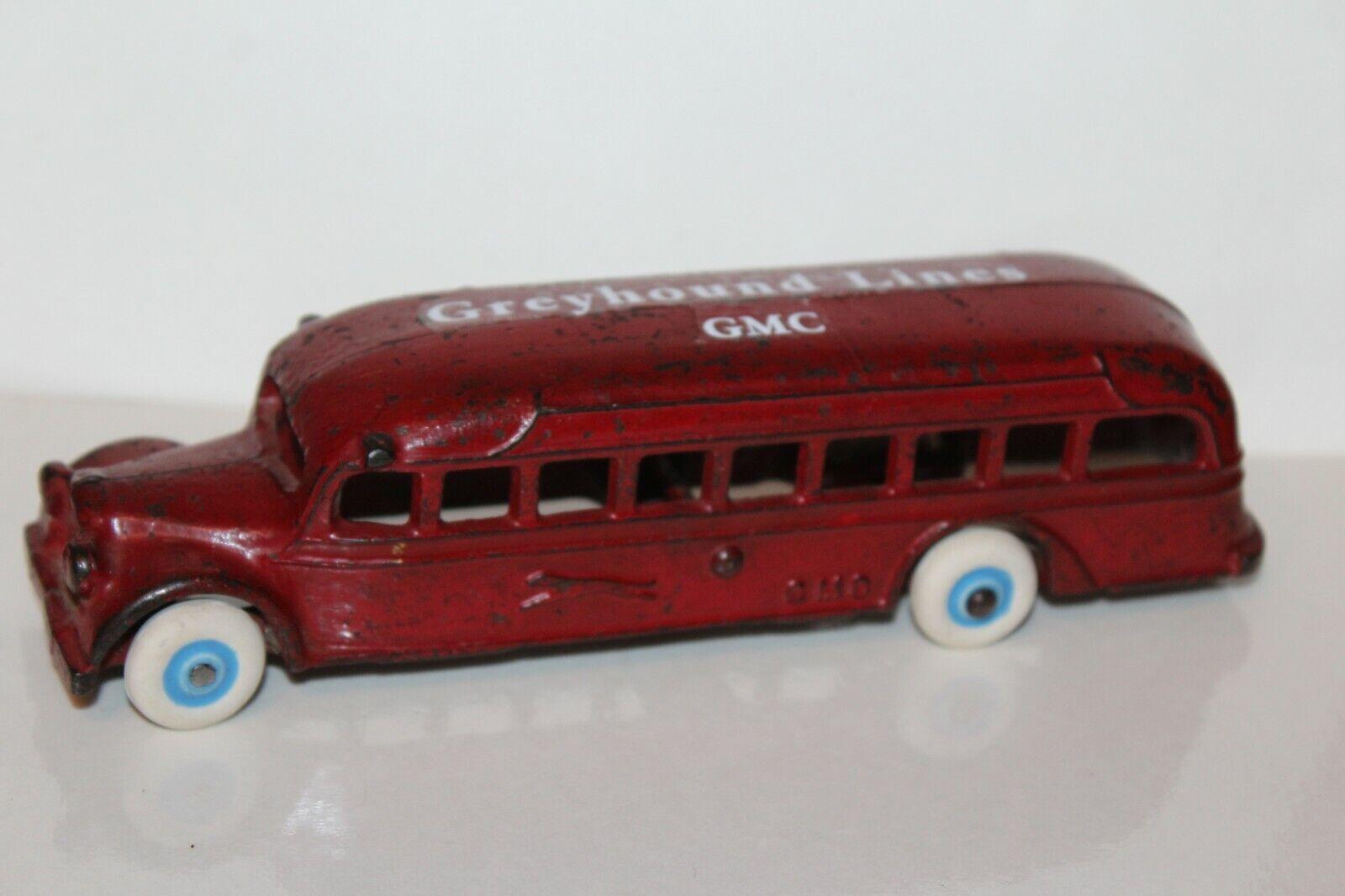 Nice Vintage 588ms Arcade Ghisa GMC grigiohound Fili Bus