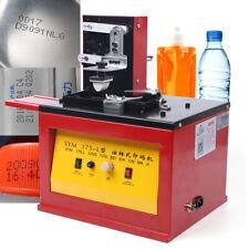 Electric Pad Printer Indirect Gravure Printing Machine For Logo Barcode Batch55w