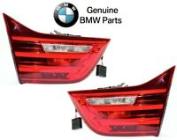 Bmw 428i Gc M4 Pair Set Of Left And Right Inner Taillights For Trunk Lid Genuine