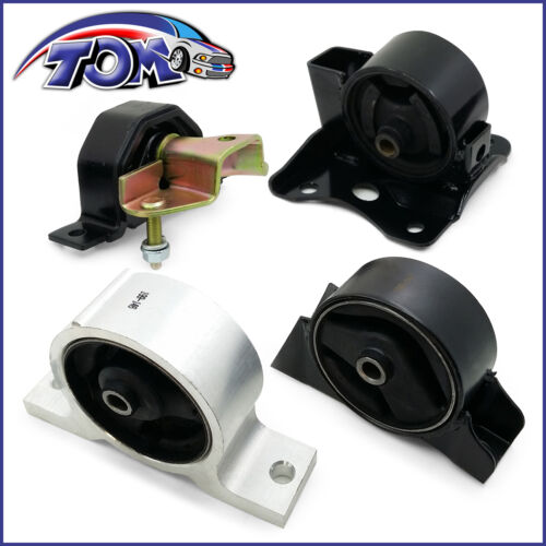 BRAND NEW ENGINE AND TRANSMISSION MOTOR MOUNTS FOR 00-06 SENTRA 1.8L AUTOMATIC