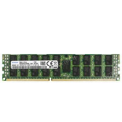 PC3-10600R 1333MHz DDR3 ECC Reg Memory Dell PowerEdge R420 Server 64GB 8x8GB