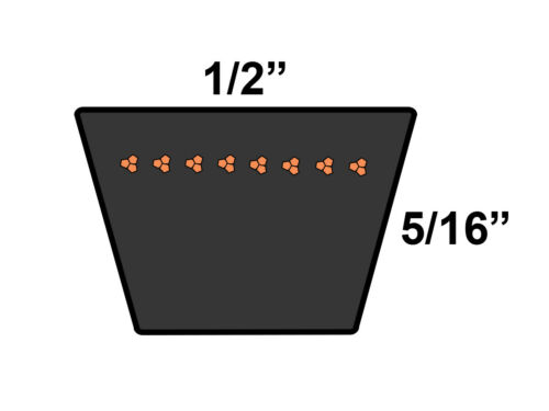 DUNLOP 4L840 Replacement Belt