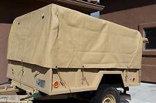 M101 M101A1 M101A2 M101A3 Trailer Top Cargo Cover tarp Tan NOS 8382966-1