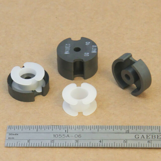 Pot Core 18x11 + Bobbin 2x Set Kit Magnetics F AL 4000  F41811UG Ferrite