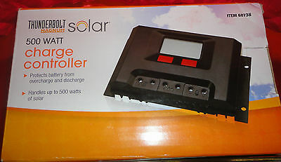 Thunderbolt Magnum Solar 500 Watt Solar Charge Controller -Solar panel regulator