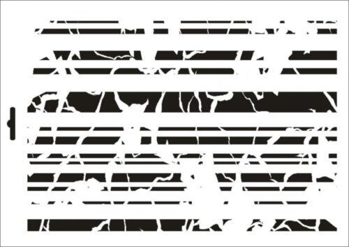 Mur textile gabarit w-314 vintage Lines ~ a5 a4 a3 ~ umr-DESIGN