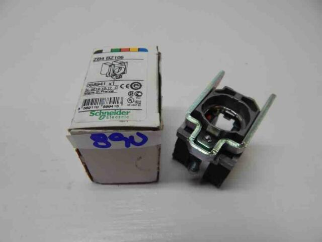 New Telemecanique ZB2BZ103 2 N.O Contact Block W// Mounting Base