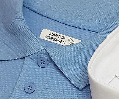 School Uniform combinación Pack 50 termoadhesivos etiquetas de nombre y 25 de etiquetas