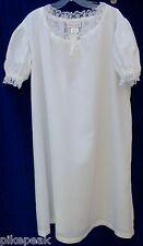 wholesale lot of twelve Girls nightgowns American Girl Felicity's Night Shift Lg