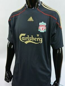pretty nice 38a7e 940c8 Details about The Reds 2009-10 adidas Liverpool FC Away Shirt SIZE XL  (adults)