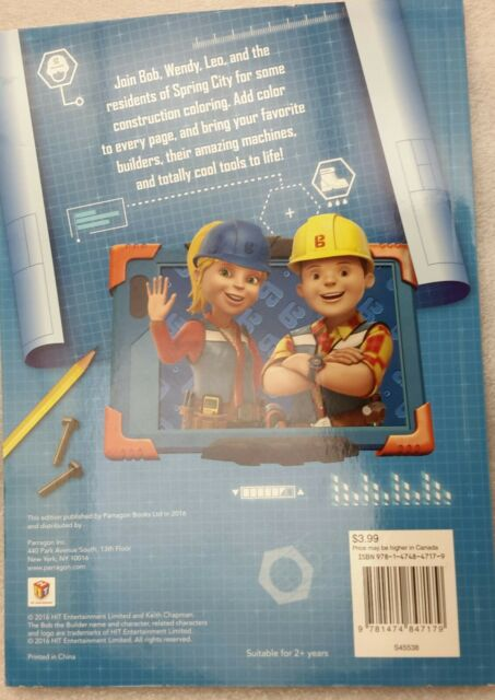 Bob the Builder Let's Work Together! by Parragon Books Ltd (2016, Paperback)