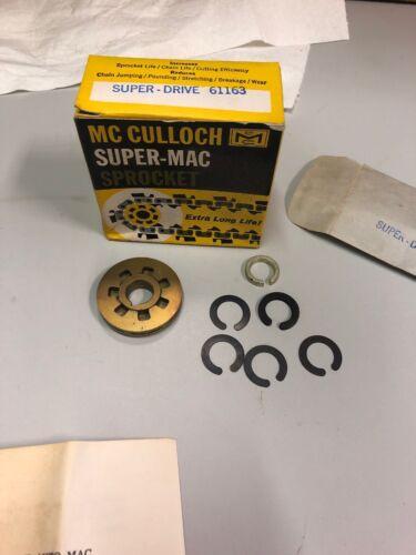McCULLOCH Super-Mac Auto-Mac 7 Tooth Gear Drive Spur Rim Sprocket 61163 1//2 Inch