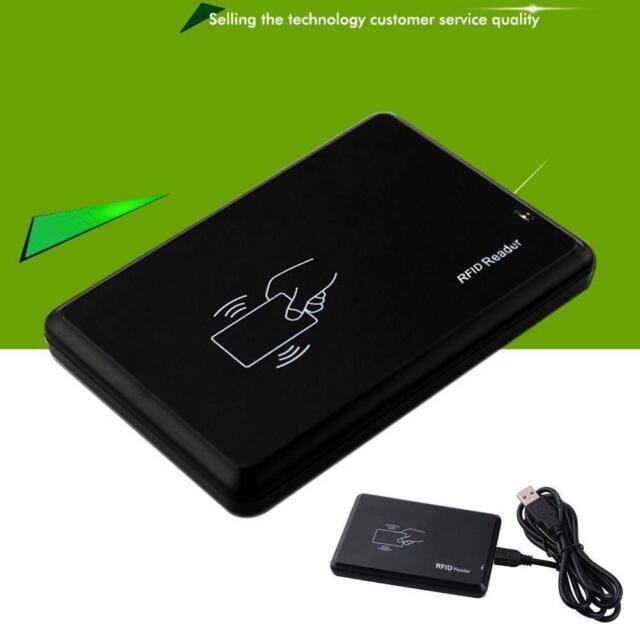 125Khz USB RFID Contactless Proximity Sensor Smart ID Card Reader EM4100 NEW UP