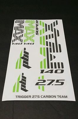 Super Max Sticker Decal Set for Cannondale Lefty PBR TRIGGER 29 CARBON 2