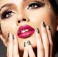 Incoco Nail Polish Applique 16 Double-ended Strips - Free Shipping