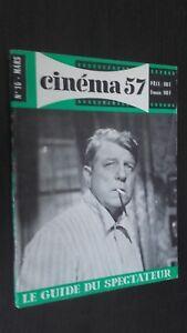 Rivista per Lettera Cinema N° 16 Mars 1957 ABE