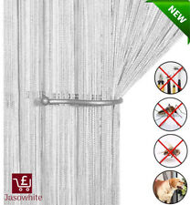 Vermatik Twin Pack Fly Curtain for Door Insect Screen Chain Link Blind Genuine Pest Control Fly Screen 90cm x 210cm