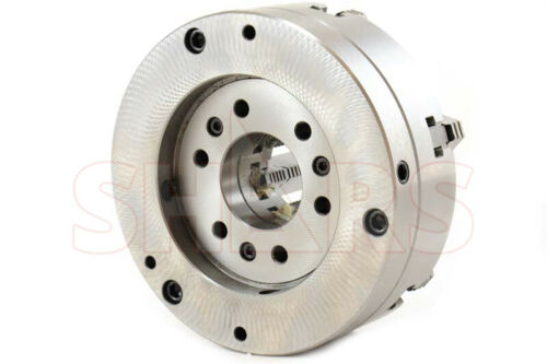 ".0005/"" TI OUT OF STOCK 90 DAYS 10/"" 6 Jaw Adjustable Self Centering Lathe Chuck"