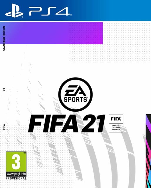 FIFA 21 PS4 Playstation 4 Video Game Brand New PRE-ORDER Release Date 09/10/2020