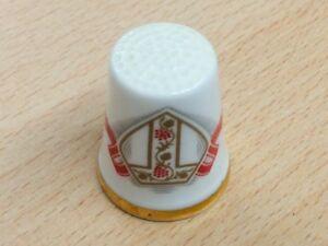 UK visit Pope John Paul II 1982 Royal Albert Vintage china thimble