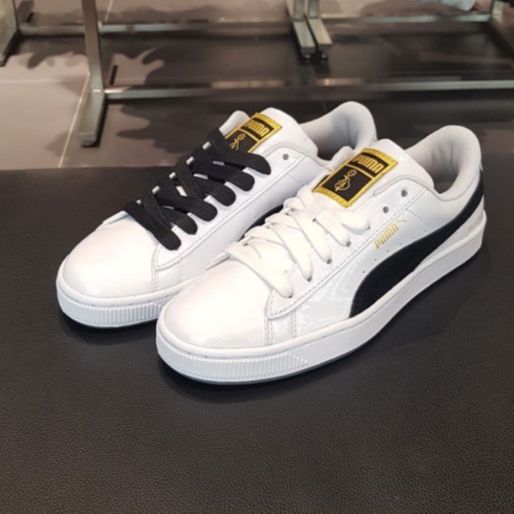 bc89a51d01f7 BTS PUMA Basket Patent Made by BTS + Fan Meeting Photo Ticket + Tracking  number