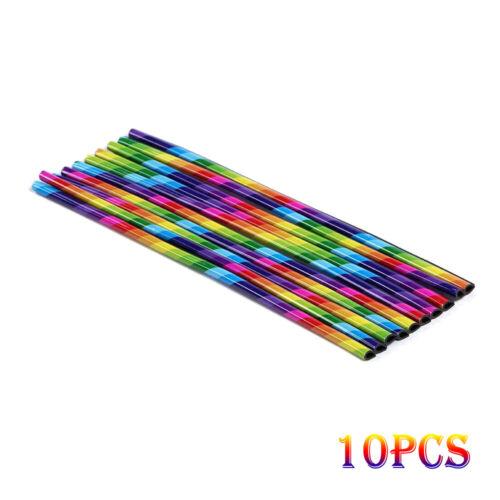 10Pcs 6 Colors Car Accessories Air Conditioner Air Outlet Decoration Strip 20cm