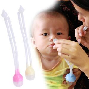 Baby Nasal Suction Aspirator Nose Cleaner Sucker Tool Hospital Toddler Infant