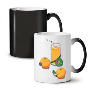 Orange Juice NEW Colour Changing Tea Coffee Mug 11 oz | Wellcoda