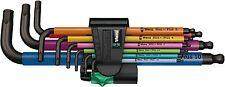 Wera - L-Wrench Set - Hex, Long Arm, Metric, 9 Pc - 05073593001
