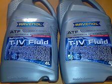 RAVENOL ATF T-IV FLUID 8l VW/AUDI G055025A2 OPEL 1940771 1940774 LR002748 T-III