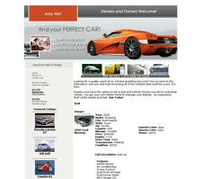 CARS TRUCKS MOTORBIKES STORE - Dealers and Car Owners Website Business For Sale