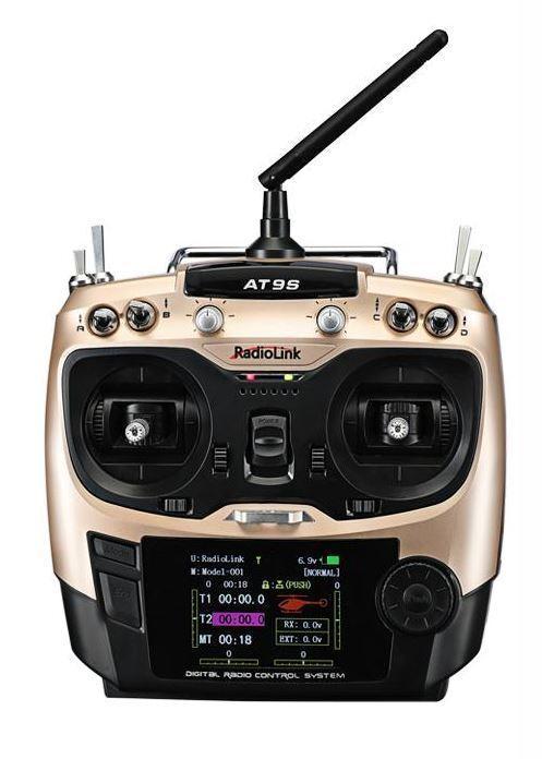 RADIOLINK AT9S-10CH DSSS & FHSS-RADIO E RICEVITORE R9DS RADAT9S