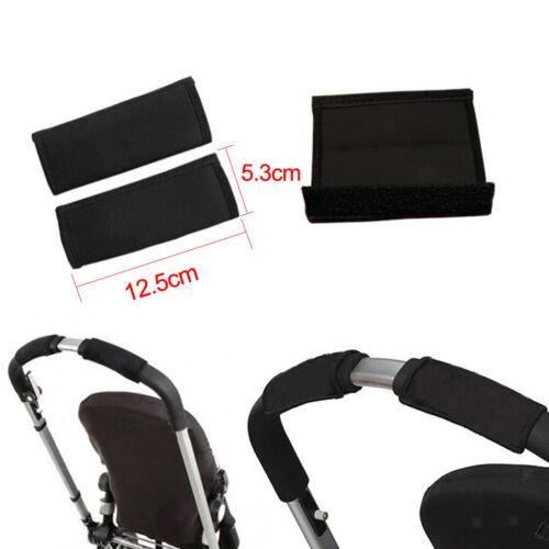2er Pack Kinderwagengriff Griffbezug Abdeckungen für Kinderwagen Buggy