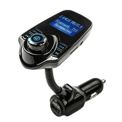 Wireless Bluetooth FM Transmitter MP3 Player USB LCD Modulator Car Kit Handsfree