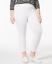 HUE-Wide-Waistband-Cotton-Capri-Leggings-White-Plus-size-2X thumbnail 1
