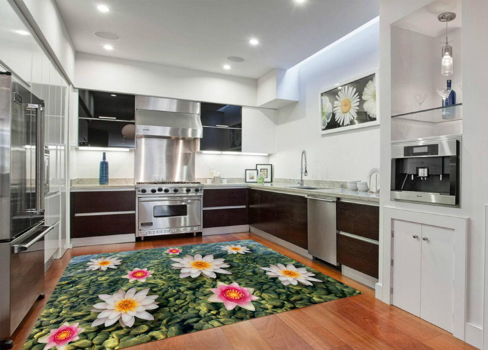 3D Lake Flowers 49 Kitchen Mat Floor MuralsWall Print Wall Deco AJ WALLPAPER CA