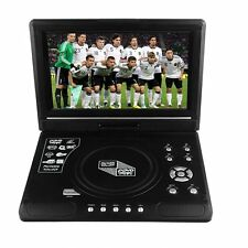 """9.8"""" Portable Car DVD CD Player TFT-LCD Display 270 Rotating for Game Video TV"""