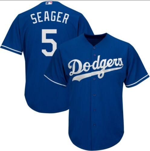 Corey Seager Los Angeles Dodgers 2020 MLB Champions Cool Base Baseball Jersey